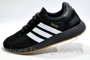 Мужские кроссовки в стиле Adidas Iniki Runner, Black
