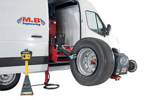 Шиномонтажный стенд для грузовых автомобилей с балансировкой и набором конусов, M&B, DIDO 26 MV