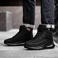 Кросівки черевики чоловічі зимові чорні