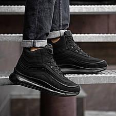 Кросівки черевики чоловічі зимові чорні 44, 46 розміри, фото 2