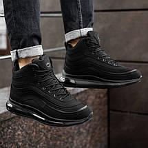 Кросівки черевики чоловічі зимові чорні 44, 46 розміри, фото 3