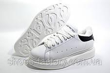 Зимние кроссовки в стиле Alexander McQueen, White\Black, фото 3