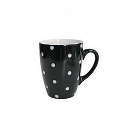 Кружка 320 мл Milika Funny Dots Black 0420-8024A ML