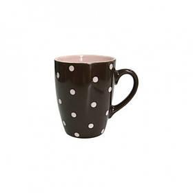 Кружка 320 мл Milika Funny Dots Chocolate 0420-8024A ML