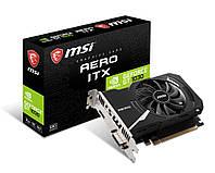 Видеокарта GF GT 1030 2GB DDR4 Aero ITX OC MSI (GeForce GT 1030 AERO ITX 2GD4 OC)
