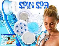 Новинка Щетка Spin spa для тела