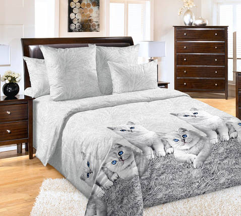 Постельное белье Кесси перкаль  ТМ Комфорт-Текстиль (Семейный), фото 2