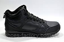 Зимние кроссовки в стиле Nike Air Span 2, Black (На меху), фото 3