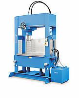OMCN 205/W - Пресс напольный, электрогидравлический. Усилие 200 тонн
