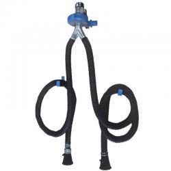 Filcar ECOARG2-75/5 - Двойная настенная вытяжка выхлопных газов со шлангом 5 метров