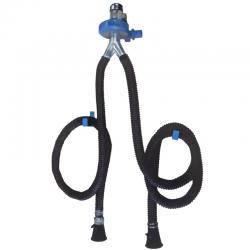 Filcar ECOARG2-75/5 - Двойная настенная вытяжка выхлопных газов со шлангом 5 метров, фото 2