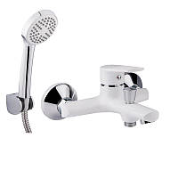 Смеситель для ванной QT Polaris WHI 006 ванна короткая (k35)