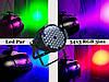 Световой прибор прожектор Led Par 54*3 RGB мультиколор, фото 8