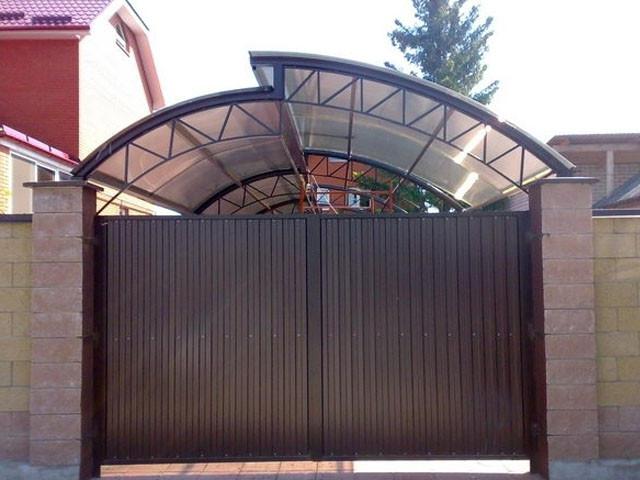 стальной оцинкованный профнастил для крыши