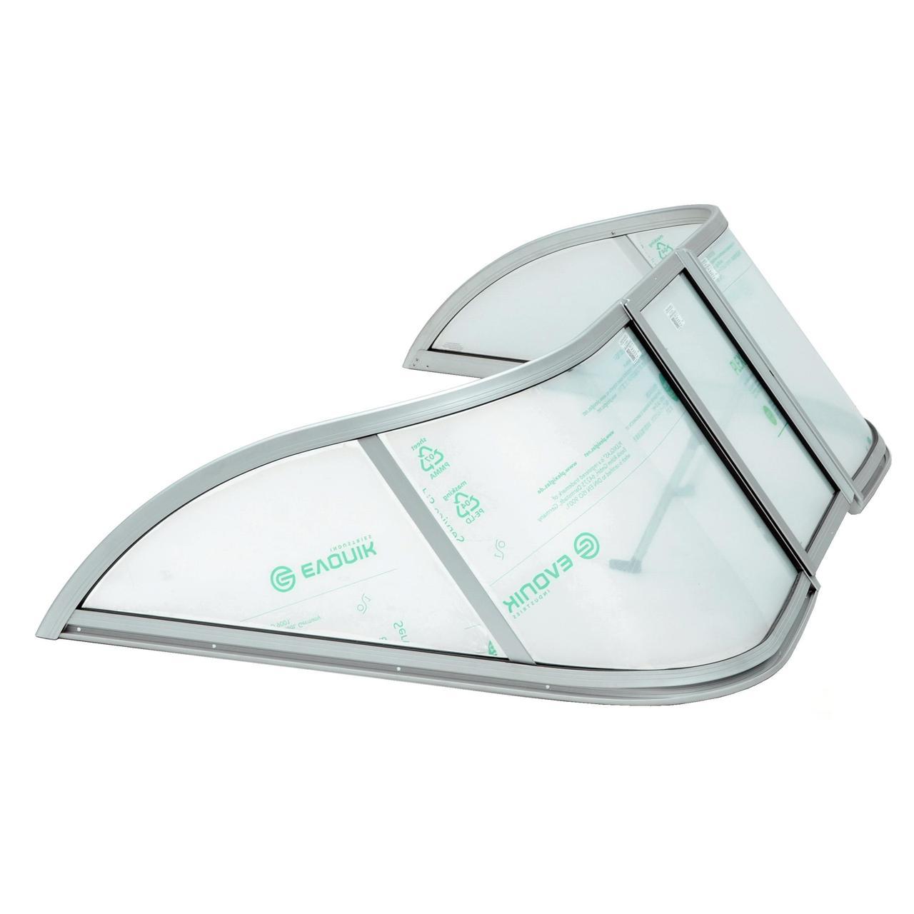 Ветровое стекло Прогресс 2 (Элит А) материал АКРИЛ P2 Elit K