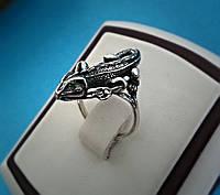 "Серебряное кольцо ""Игуана"""