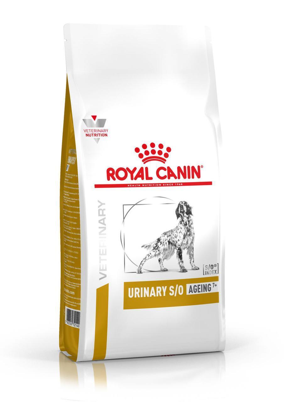 Сухой корм для собак старше 7 лет с мочекаменной болезнью Royal Canin Urinary S/O Canine Ageing 7+ 8 кг