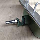 Газовий керамічний інфрачервоний обігрівач Солярогаз ГІЇ 2.3 КВТ (газовий пальник), фото 4