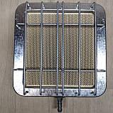 Газовий керамічний інфрачервоний обігрівач Солярогаз ГІЇ 2.3 КВТ (газовий пальник), фото 9