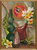 Набор для вышивания бисером и нитками Этно натюрморт