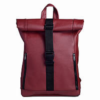 Рюкзак Roll унісекс 43(54)*31*14 см бордовый