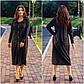"""Стильне жіноче плаття в батальних розмірах 1155 """"Ангора Міді Гудзики"""" в кольорах, фото 6"""