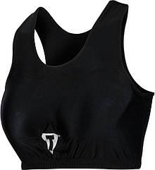 Защита груди женская TITLE Boxing Advanced Chest Guard/Compress BRA Черная