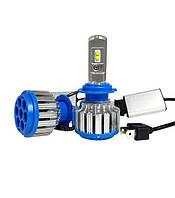 Cветодиодные LED COB лампы RIAS H7 6000к 35W Ксенон (4_422252343)