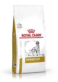 Сухой корм для собак с мочекаменной болезнью Royal Canin Urinary S/O Canine 2 кг
