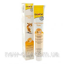 GimCat Multi-Vitamin Paste Мультивитаминная паста для кошек 200гр