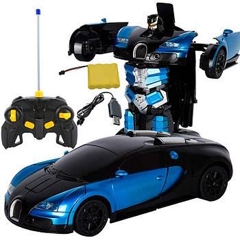 Машина трансформер1:12 DEFORMATION NO:668 радиоуправляемая игрушка с ПУЛЬТОМ!