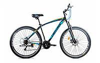 """Горный велосипед Crossride """"Madman"""" 29"""" с дисковыми тормозами, Черно-синий"""
