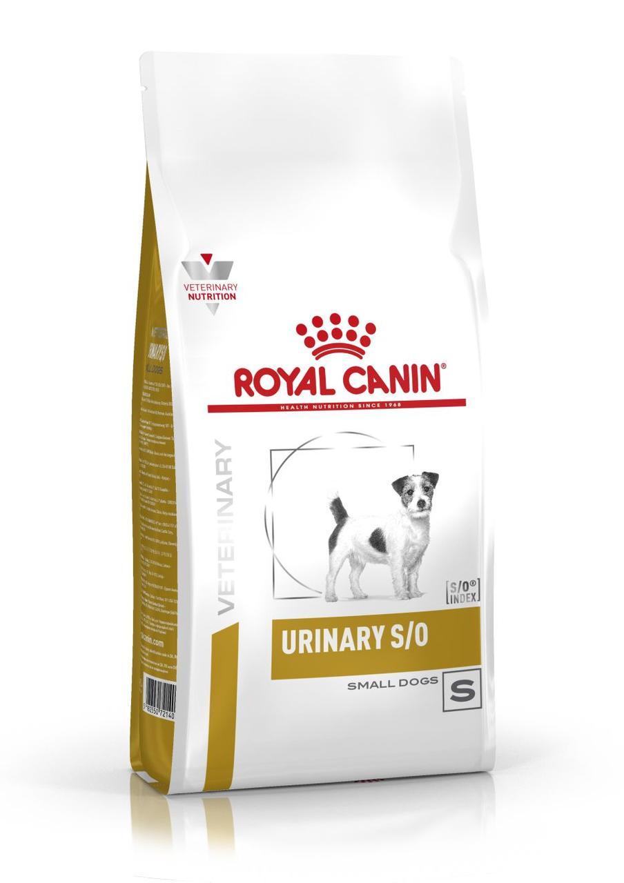 Сухий корм для собак малих порід з сечокам'яною хворобою Royal Canin Urinary S/O Small Dog 1,5 кг