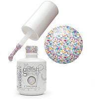 Гель-лак Gelish Harmony / 01370 Silver Sand (прозрачный с  серебристыми голографическими блестками) 15 мл