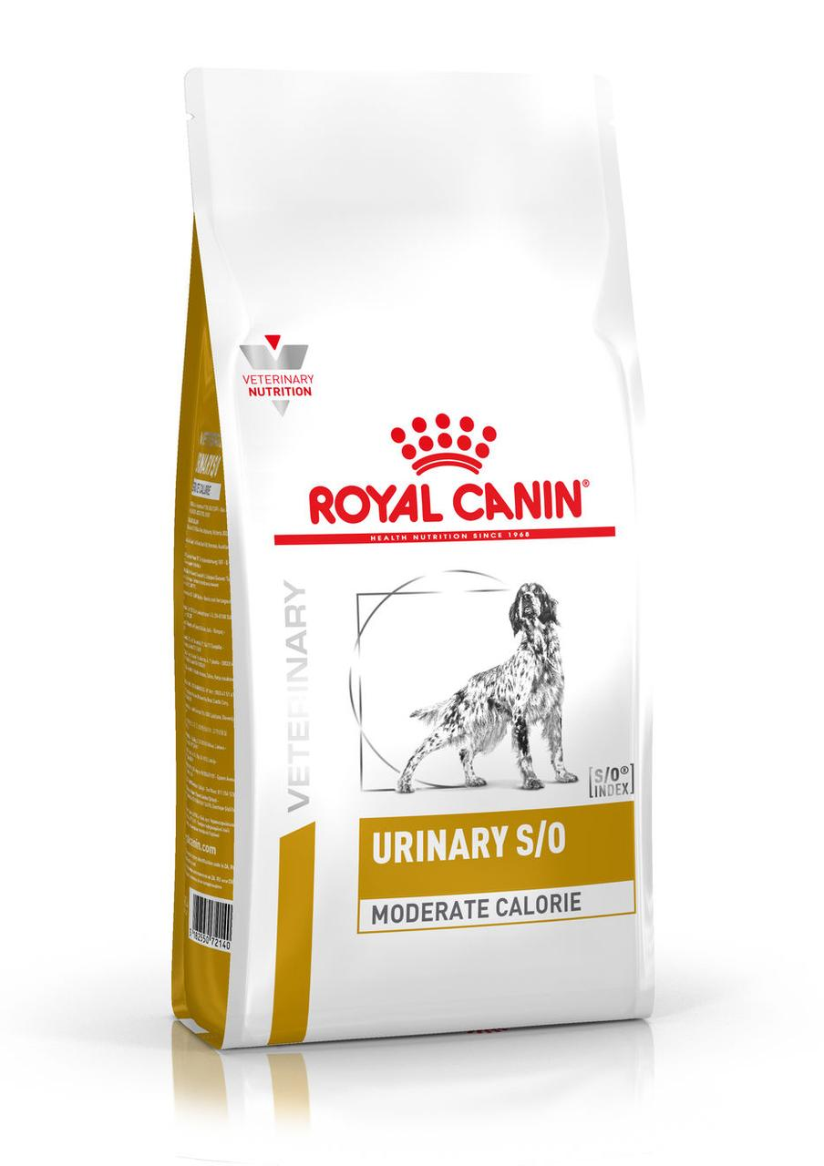 Сухий корм для собак з сечокам'яною хворобою Royal Canin Urinary S/O Canine Moderate Calorie 1,5 кг