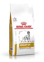 Сухой корм для собак с мочекаменной болезнью Royal Canin Urinary S/O Canine Moderate Calorie 1,5 кг