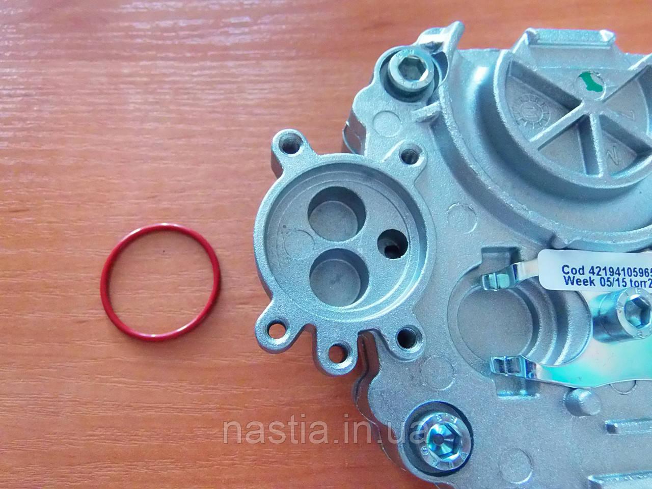 Т NM01.022 (NM02.030) Гумовий ущільнювач(на вихід з плоского бойлеру, червоні), OR 2106