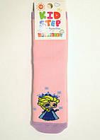 Махровые носки детские цветные принцесса