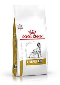 Сухой корм для собак с мочекаменной болезнью Royal Canin Urinary U/C Canine 14 кг