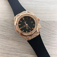Часы женские Hublot Big Bang Diamonds Small 888788 Gold-Black