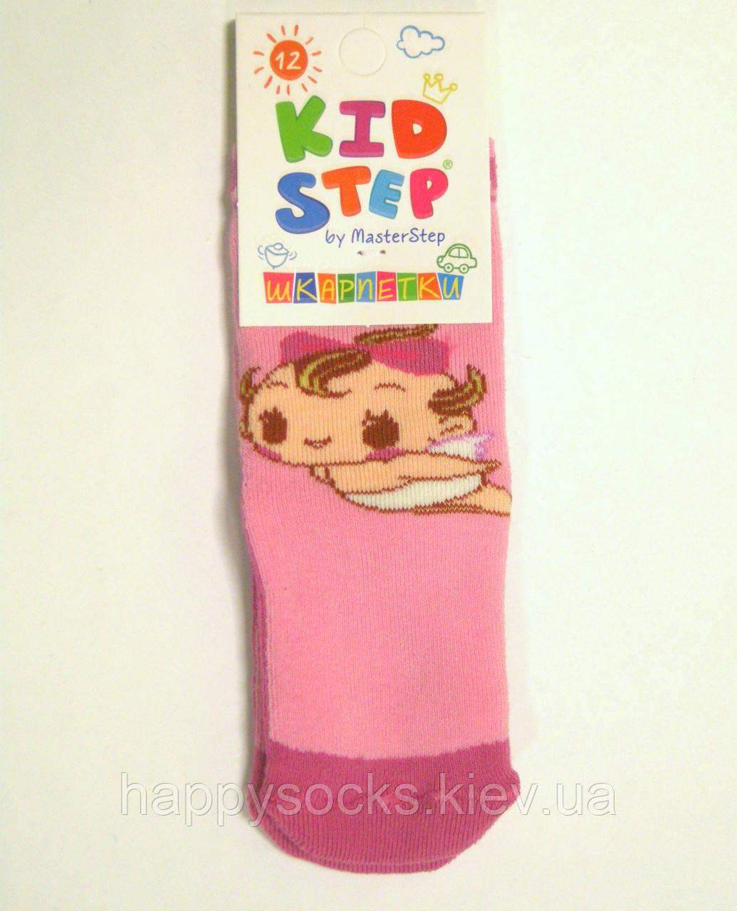 Детские носочки махровые ангел