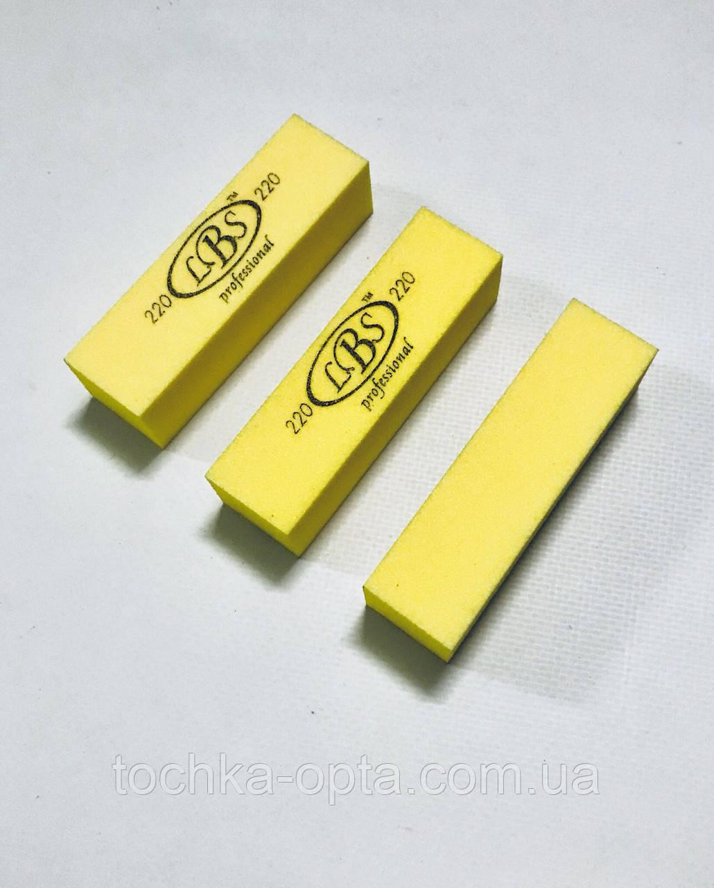 Бафы для ногтей LBS 220 гритт