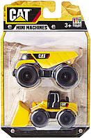Набор из двух мини-машинок погрузчик и самосвал CAT, Toy State, 34635