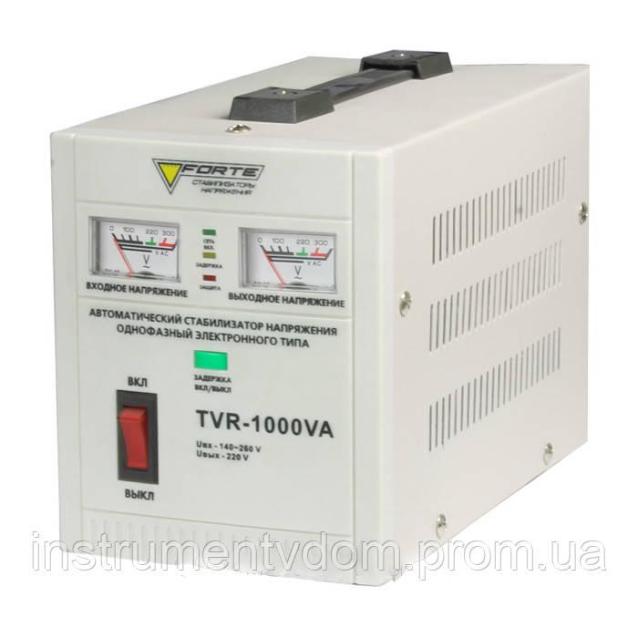 Стабилизатор напряжения FORTE TVR-1000VА (релейный)