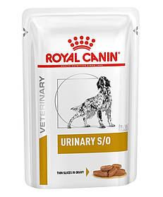 Влажный корм для собак с мочекаменной болезнью Royal Canin Urinary S/O Canine 100 г