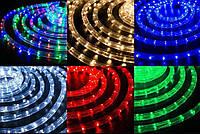 Гирлянда дюралайт 9 метров уличная (белая, синяя, мульти, красная, зеленая), фото 1