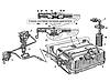 Система питания двигателя автомобиля зил-130