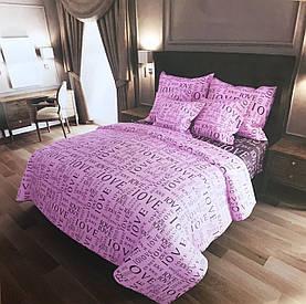 Семейный комплект постельного белья Бязь 100% хлопок