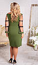 Женское  платье  нарядное , 52-66 размер №1120, фото 2