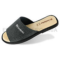 Мужские тапочки с открытым носком Inblu TN-2Q, Серый, 44